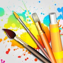 Drawing Desk - Draw, Paint, Doodle & Sketch board
