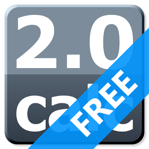 This is the logo for Web 2.0 Calc