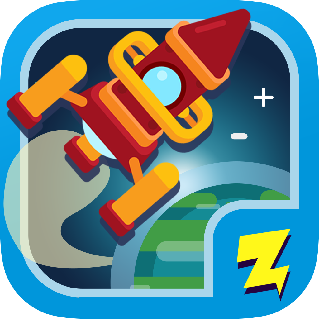 Logo of Zap Zap Kindergarten Math