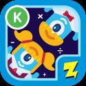 logo for Zap Zap Kindergarten Math