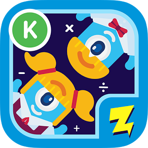 logo for Zap Zap Kindergarten Math